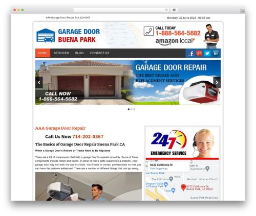 Twenty Thirteen theme WordPress - garagedoorbuenaparkcal.com