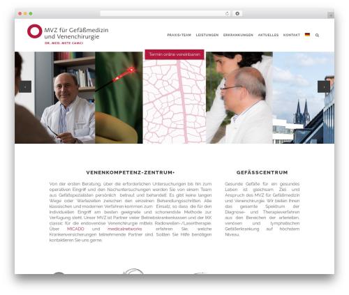 WordPress theme Stockholm - gefaesscentrum-koeln.de