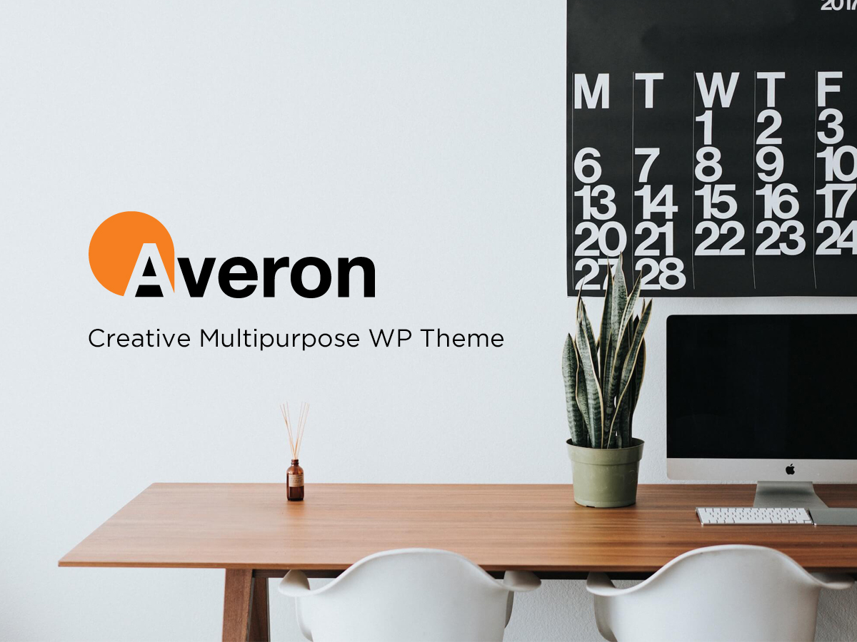 Averon business WordPress theme