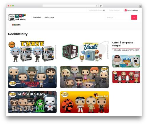 Best WordPress template Puca - geekinfinity.com.br
