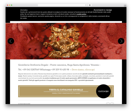 Theme WordPress The Retailer - gioiellivenezia.com
