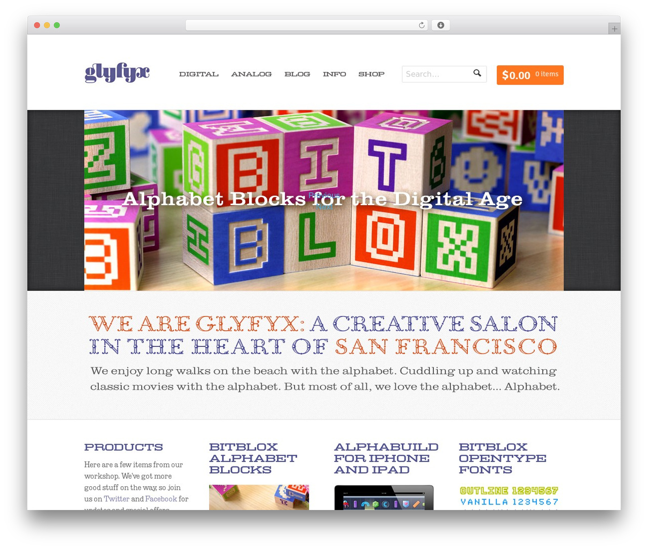 Whitelight template WordPress - glyfyx.com