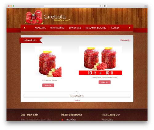 WordPress website template Bordeaux Premium Theme - girebolu.com