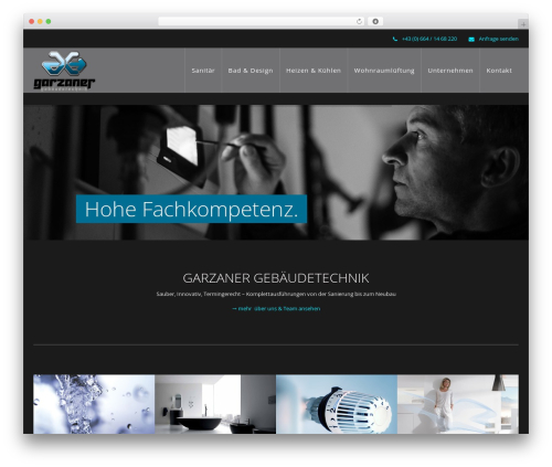 WP Omnia template WordPress - gebaeudetechnik-garzaner.com
