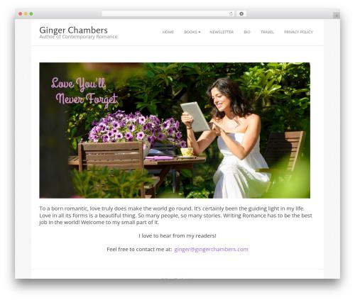 Brigsby Premium WordPress theme - gingerchambers.com