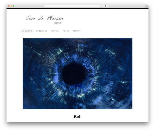 Platform WordPress template - garedemarlon.com