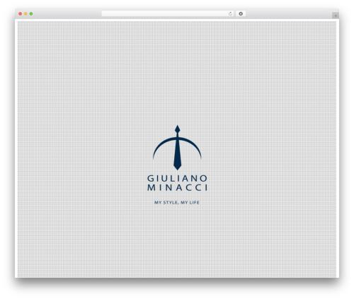 Template WordPress Agora - giulianominacci.it