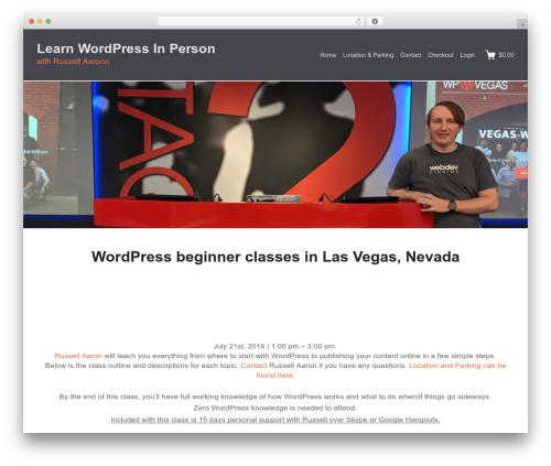 Themedd top WordPress theme - geekstreetwp.com