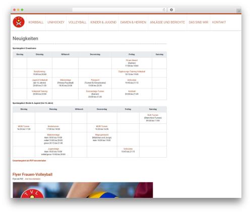 AccessPress Ray WordPress website template - tvleimbach.ch