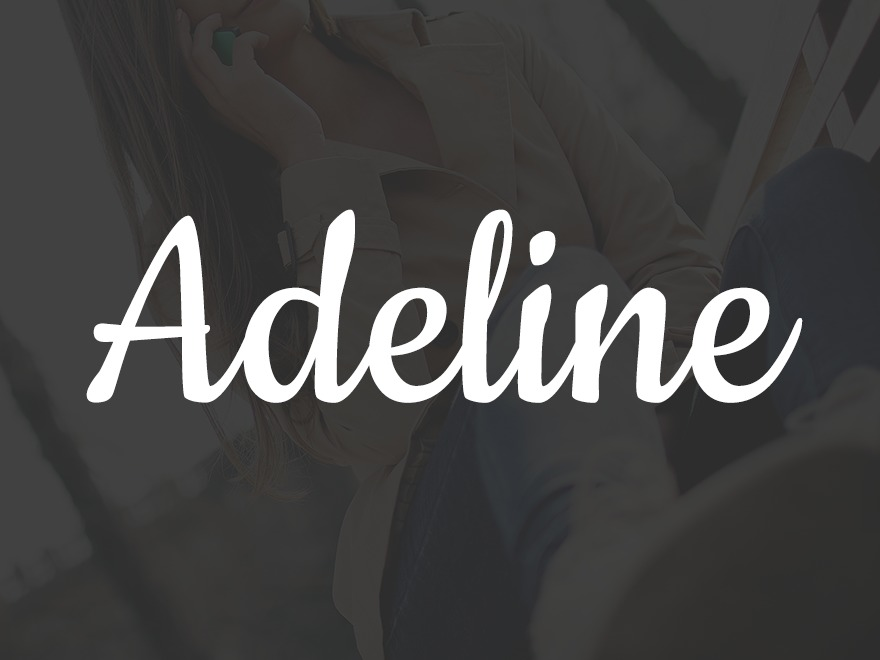 Adeline WordPress shop theme