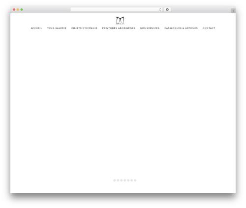 Artday WordPress theme - temagalerie.com