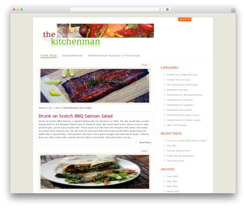ArtSee WP theme - thekitchenman.ca