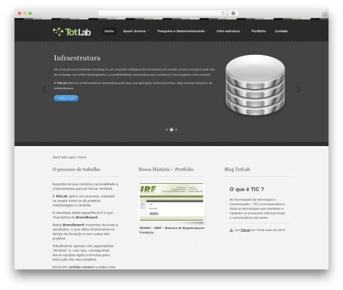 Best WordPress template Swatch - totlab.com.br