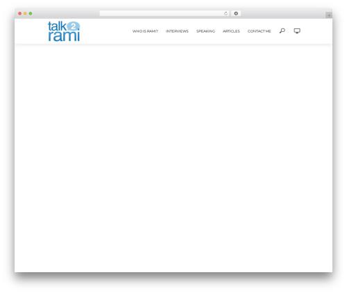 Free WordPress Meks Smart Social Widget plugin - talk2rami.com