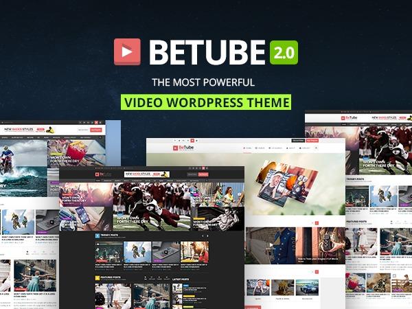 betube theme WordPress portfolio