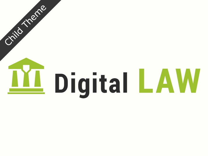 Digital LAW Child Theme premium WordPress theme