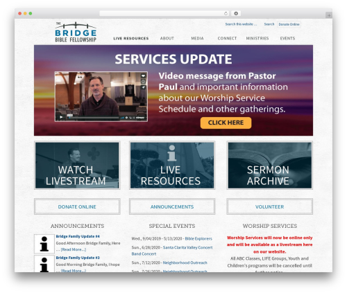 WordPress nivo-slider plugin - thebridgebiblefellowship.com