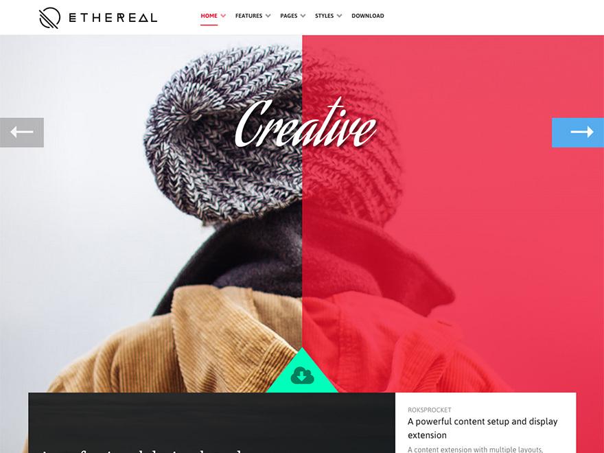 Ethereal WP theme