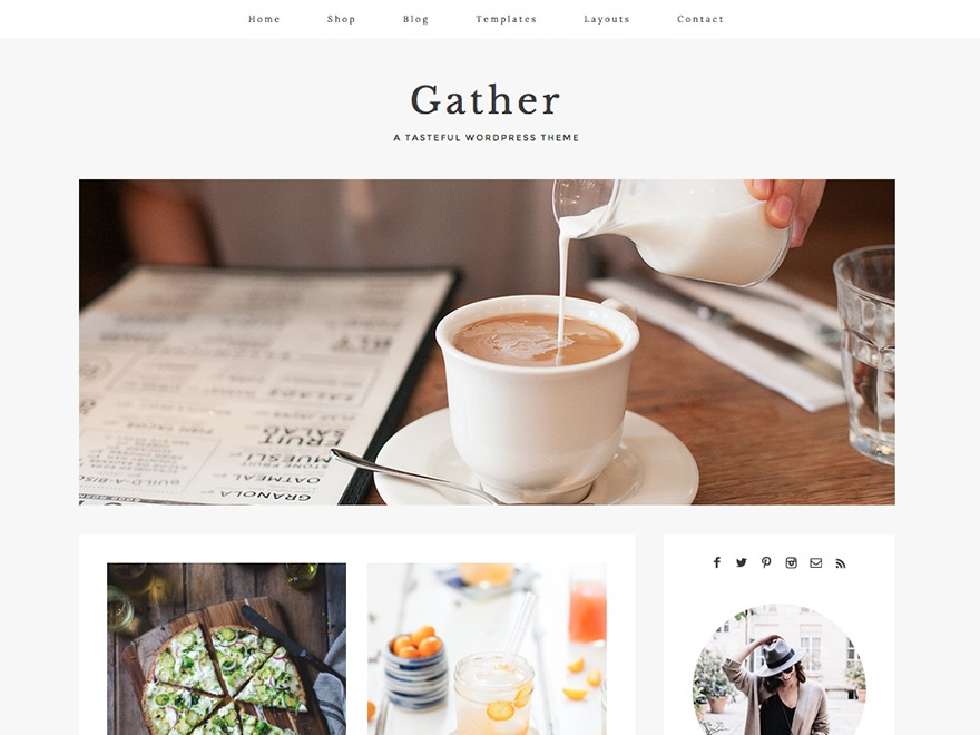 Gather premium WordPress theme