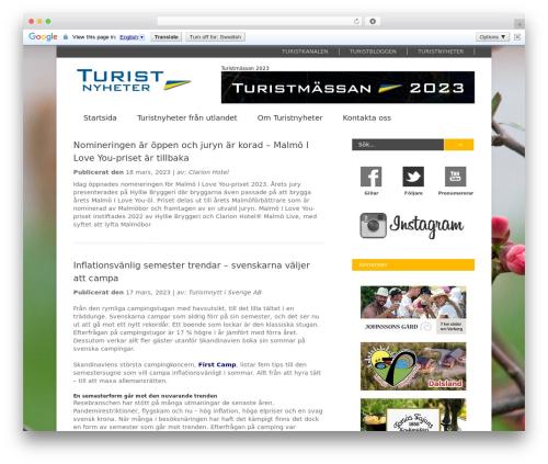Free WordPress Responsive Facebook Page Plugin plugin - turistnyheter.se
