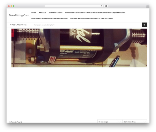 Grand-Popo free WordPress theme - tokofitting.com