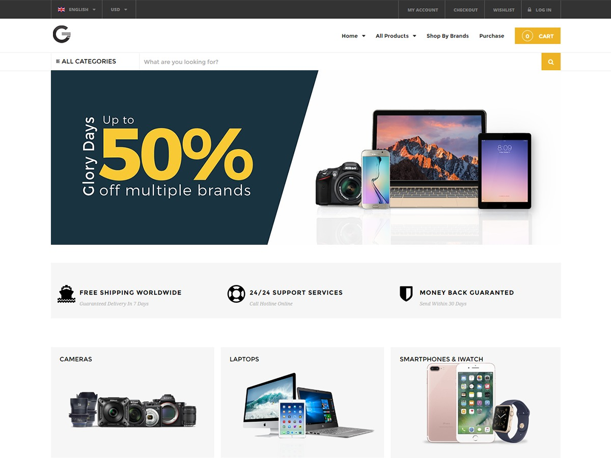 Grand-Popo theme WordPress free