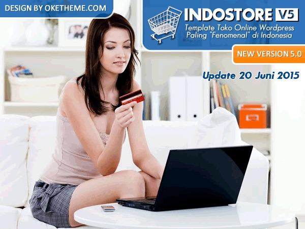 IndoStore WordPress shop theme