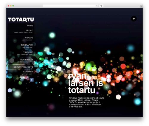 Kaleido for WordPress WordPress theme - totartu.com