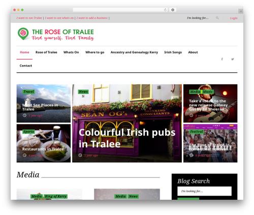 King News WordPress magazine theme - theroseoftralee.com
