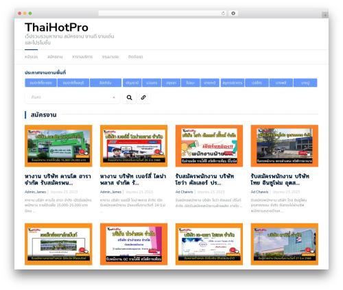 Newspaper X top WordPress theme - thaihotpro.com