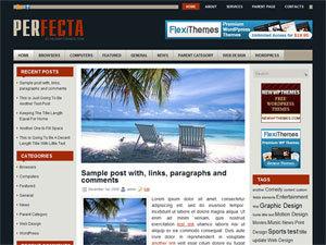 Perfecta best WordPress template