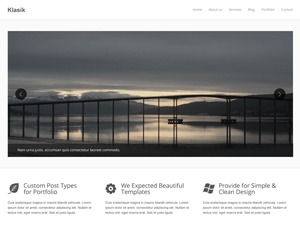 Phasire company WordPress theme