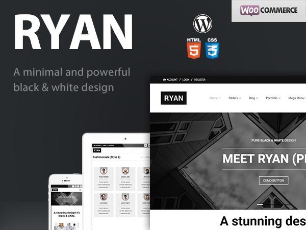 Ryan Pro business WordPress theme