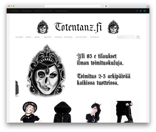 Shop WordPress ecommerce template - totentanz.fi