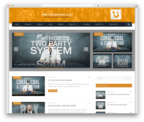 SmartMag WordPress magazine theme - theundercurrent.com