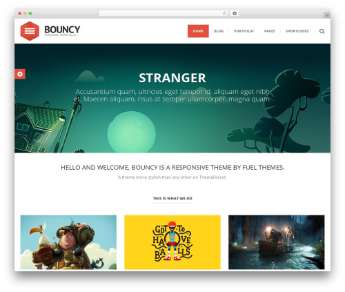 Theme WordPress () Bouncy - thefarmdesignco.com