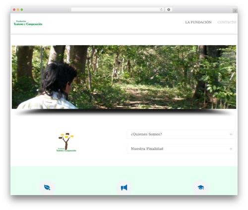 Theme WordPress Dzen - turismoycooperacion.org