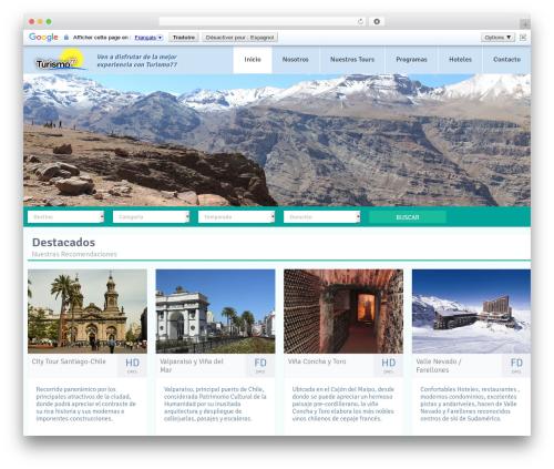 Free WordPress Awesome Weather Widget plugin - turismo77.cl