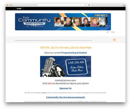 Theme WordPress WP-Brilliance - tem-fm.com.au
