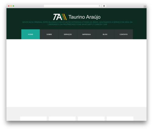 WordPress theme cherry - taurinoaraujo.com