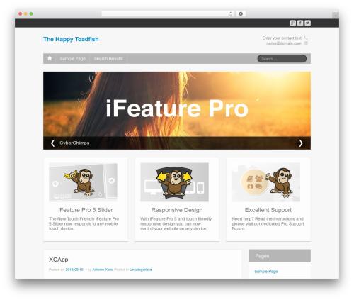 Free WordPress Vertical and Horizontal Tree plugin - thehappytoadfish.com