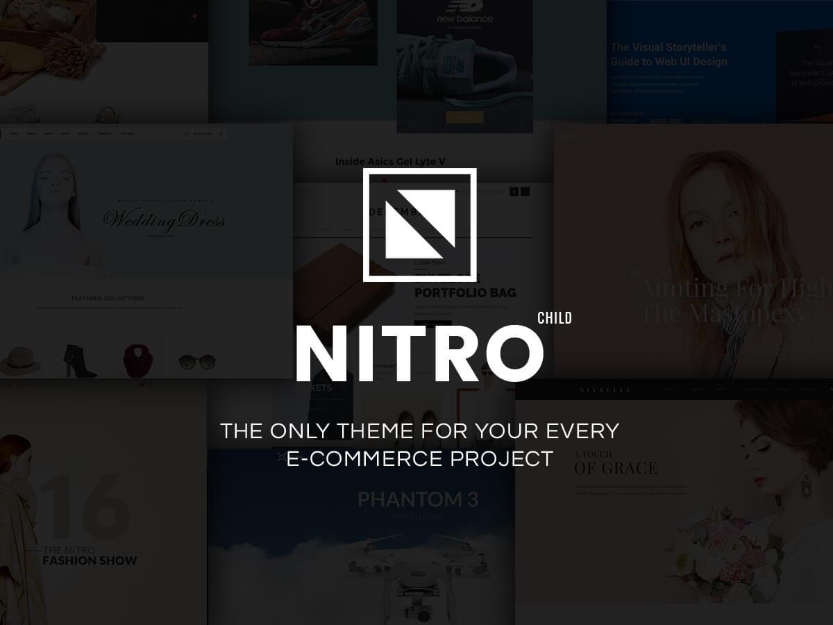 WR Nitro Child WordPress shop theme