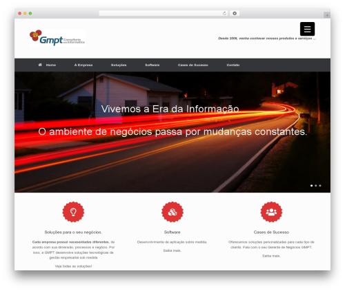 Best WordPress template Vantage - gmpt.com.br