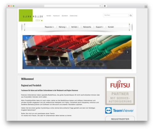 DroidPress template WordPress - glennmueller.de