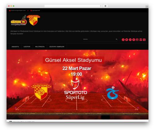 GoalKlub best WordPress theme - goztepetv.com