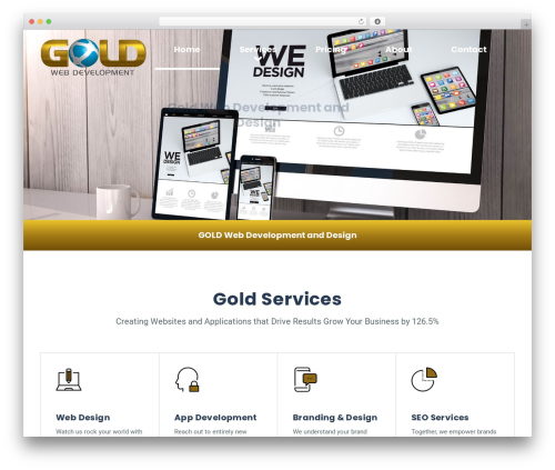 GrowthPress PT theme WordPress - goldwebdevelopment.com
