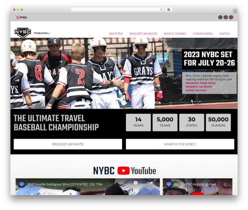 Template WordPress Aaika - nybcbaseball.com