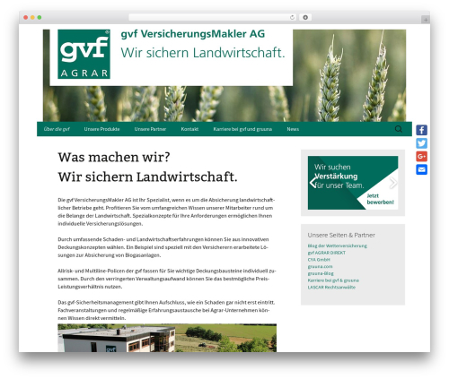 Twenty Thirteen theme WordPress free - gvf.de