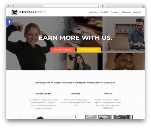 WordPress theme OnePirate - gisoagent.com