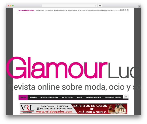 Best WordPress theme Goliath - glamourlucena.es